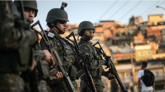 羅賽芙總統表示,維護奧運安全是當局首要任務。(BBC中文網)