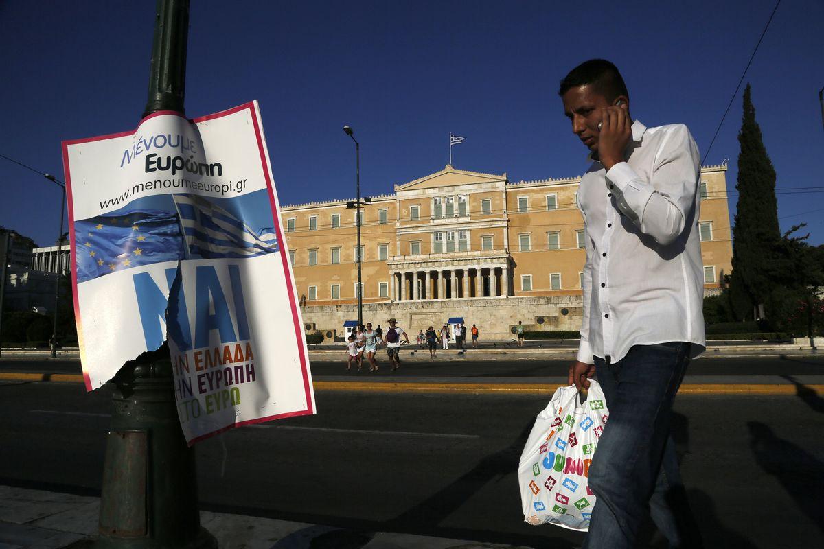 希臘公投,何去何從(美聯社)