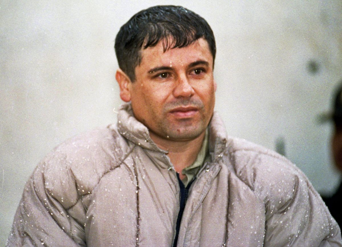 墨西哥大毒梟「矮子」(El Chapo)古茲曼(Joaquín Guzmán Loera)(美聯社)