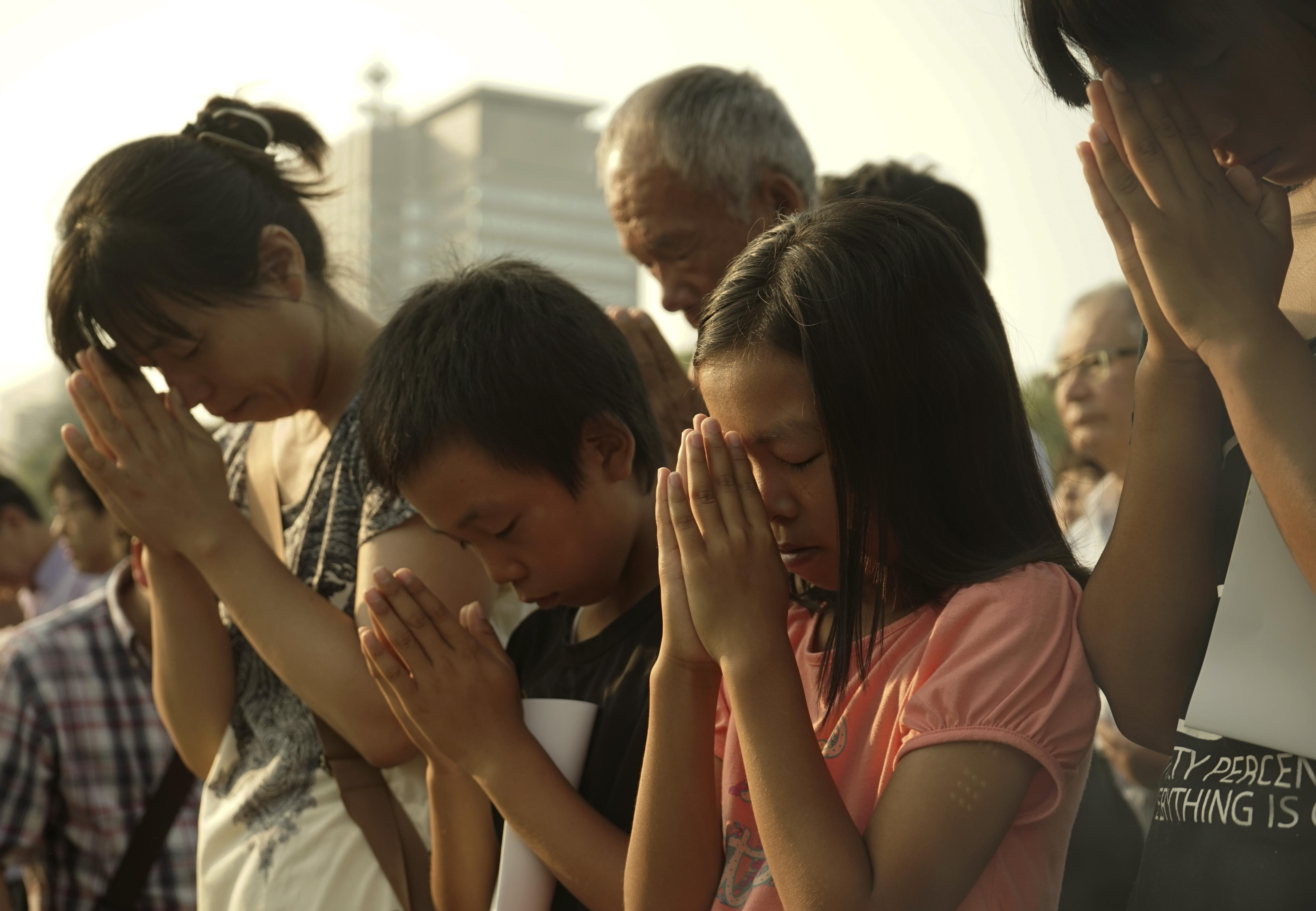 廣島原爆紀念儀式。(美聯社)