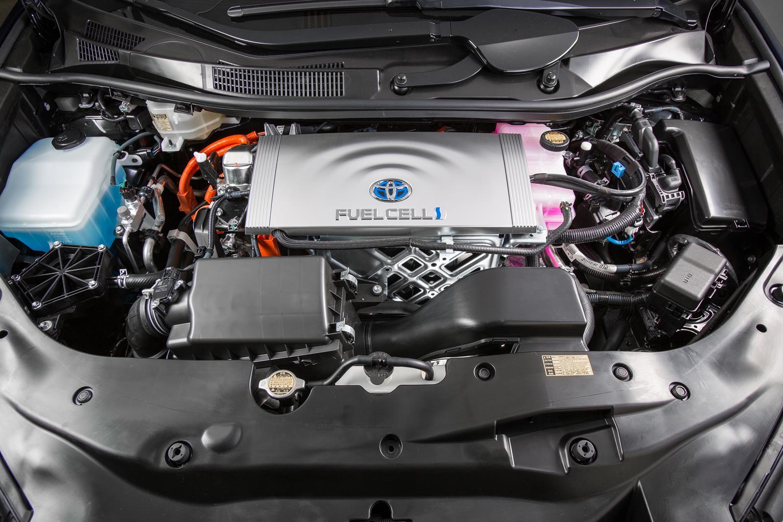 豐田MIRAI的燃料電池引擎(取自網路)