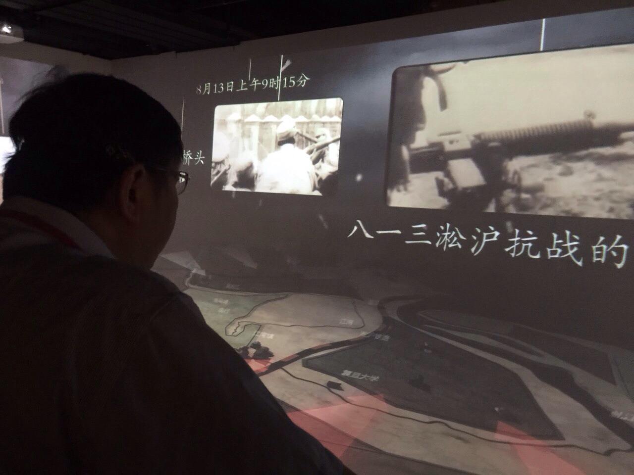 台北市長柯文哲參訪上海四行倉庫(台北市政府)