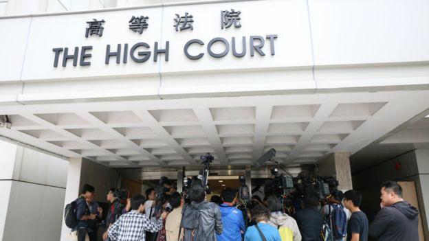關於黃之鋒的司法覆核,香港高等法院在未來幾個月之內有機會審議。(BBC中文網)