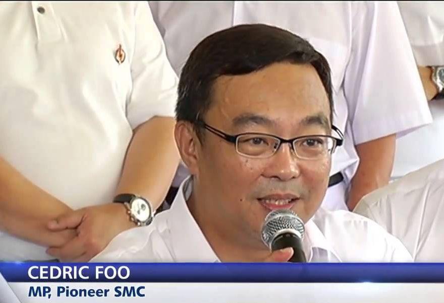 新加坡國會議員、海皇輪船公司副總裁符致鏡(取自YouTube)