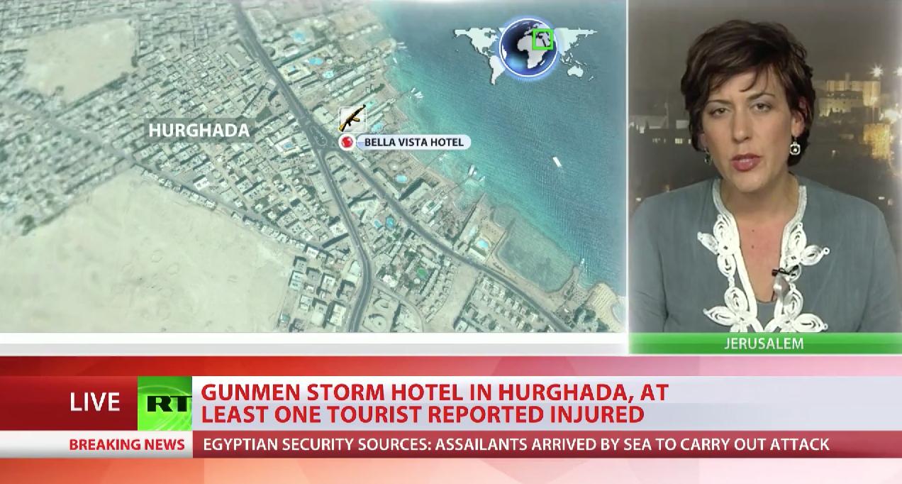 埃及胡爾加達市飯店襲擊事件。
