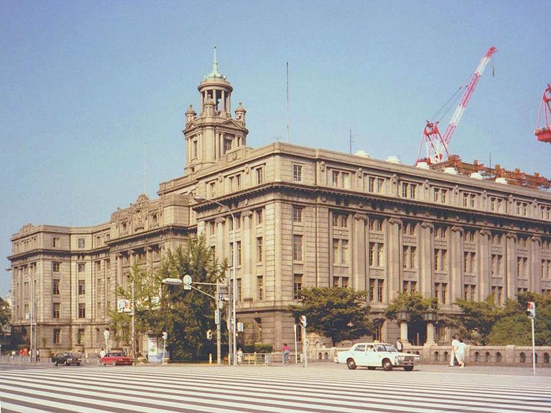 第三代大阪市廳舍。(圖/維基百科)