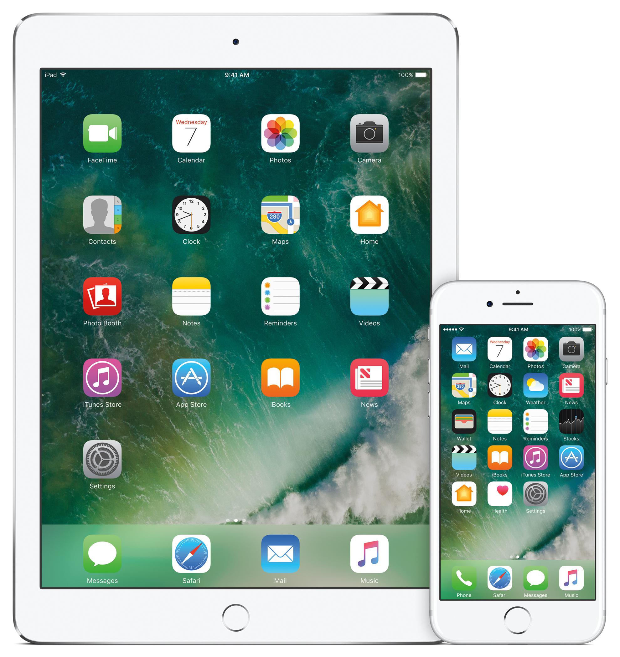 iOS 10的更新傳出變磚災情。(美聯社)