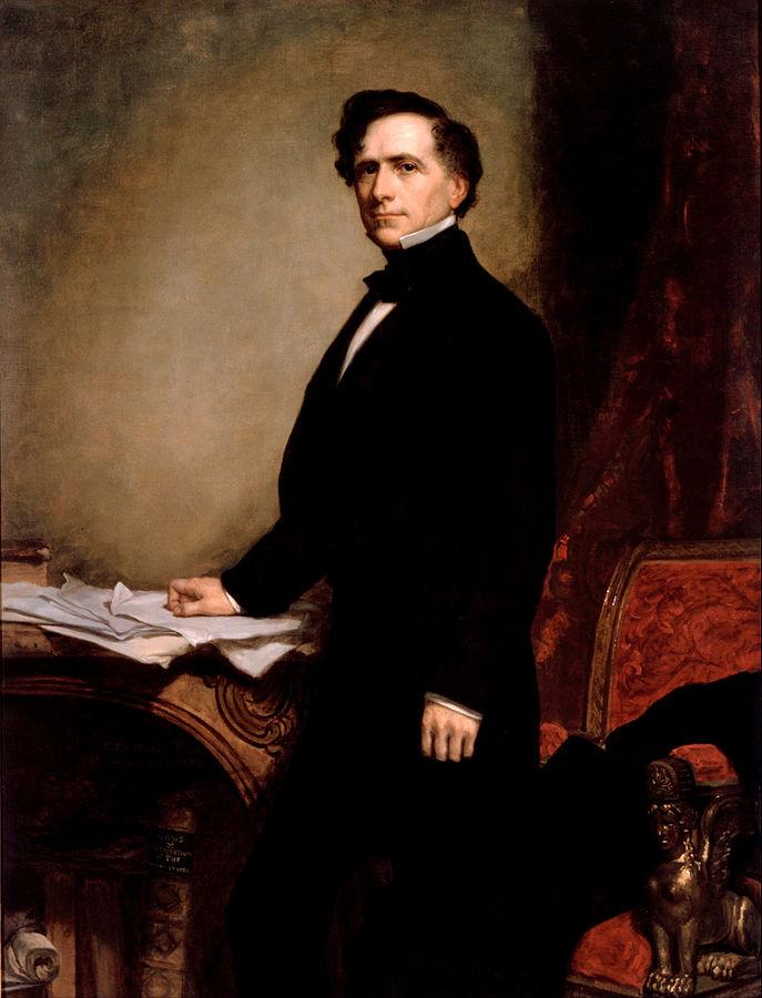 美國第14位總統富蘭克林.皮爾斯(Wikipedia/Public Domain)