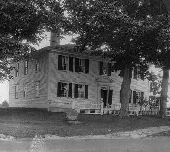 皮爾斯的童年住處(Wikipedia/Public Domain)