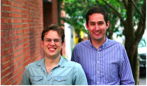 Instagram兩位創辦人,左為Mike Krieger,右為Kevin Systrom(圖片/Instagram官網)
