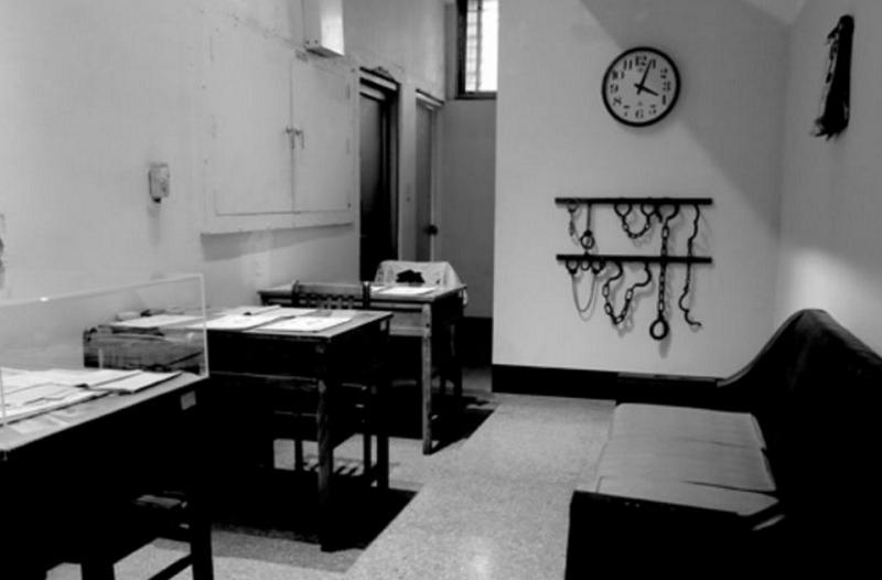 刑訊室(胡發雲提供)