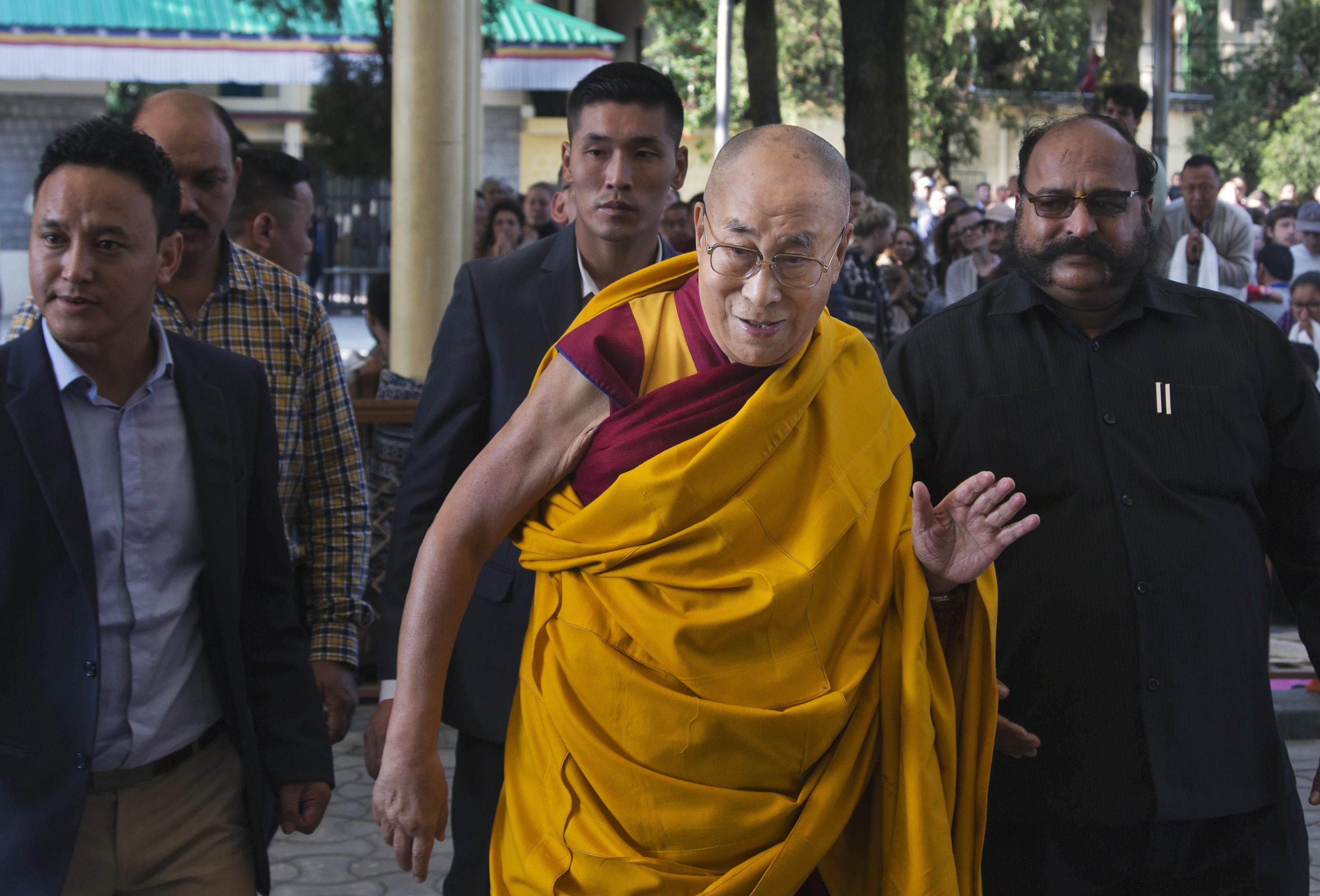 西藏精神領袖達賴喇嘛,北京當局的眼中釘(AP)