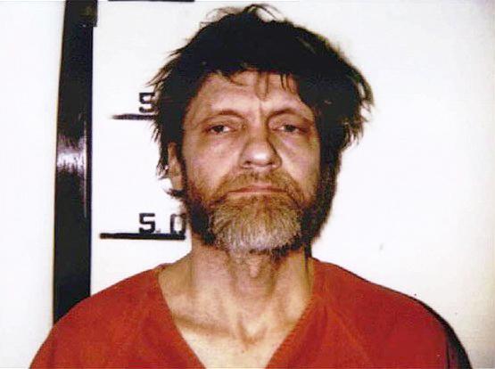 曾於1978年至1995年間,犯下至少10起「大學航空爆炸案」的卡辛斯基(Theodore Kaczynski)。(Wikipedia / Public Domain)