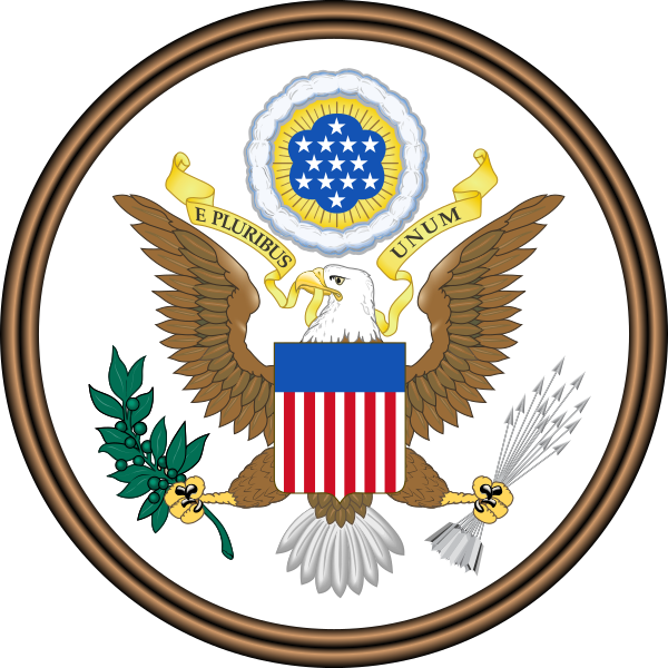 美國國徽。(Wikipedia /Public Domain)