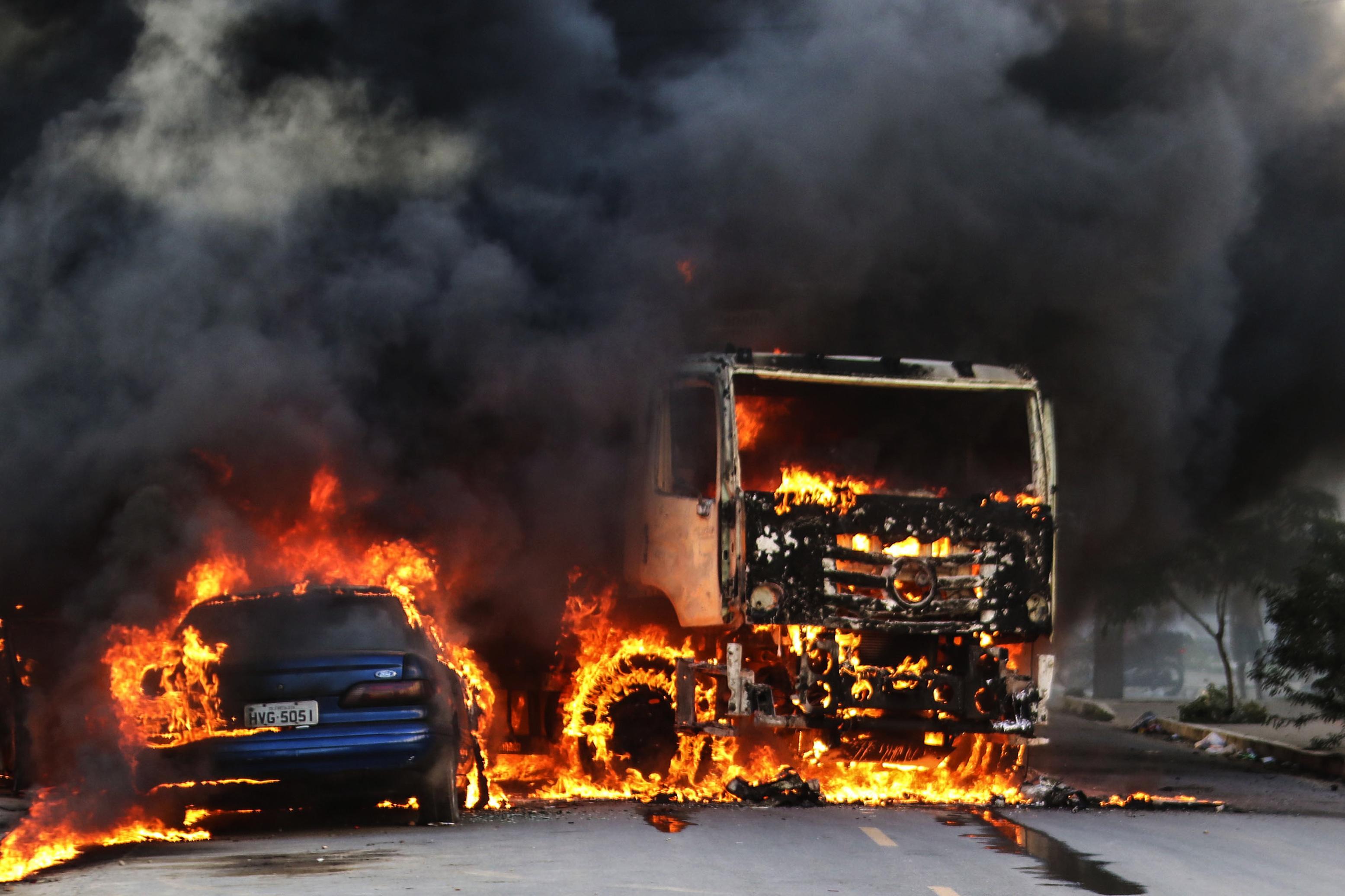 巴西大城市治安情況惡劣,街頭暴力事件層出不窮(AP)