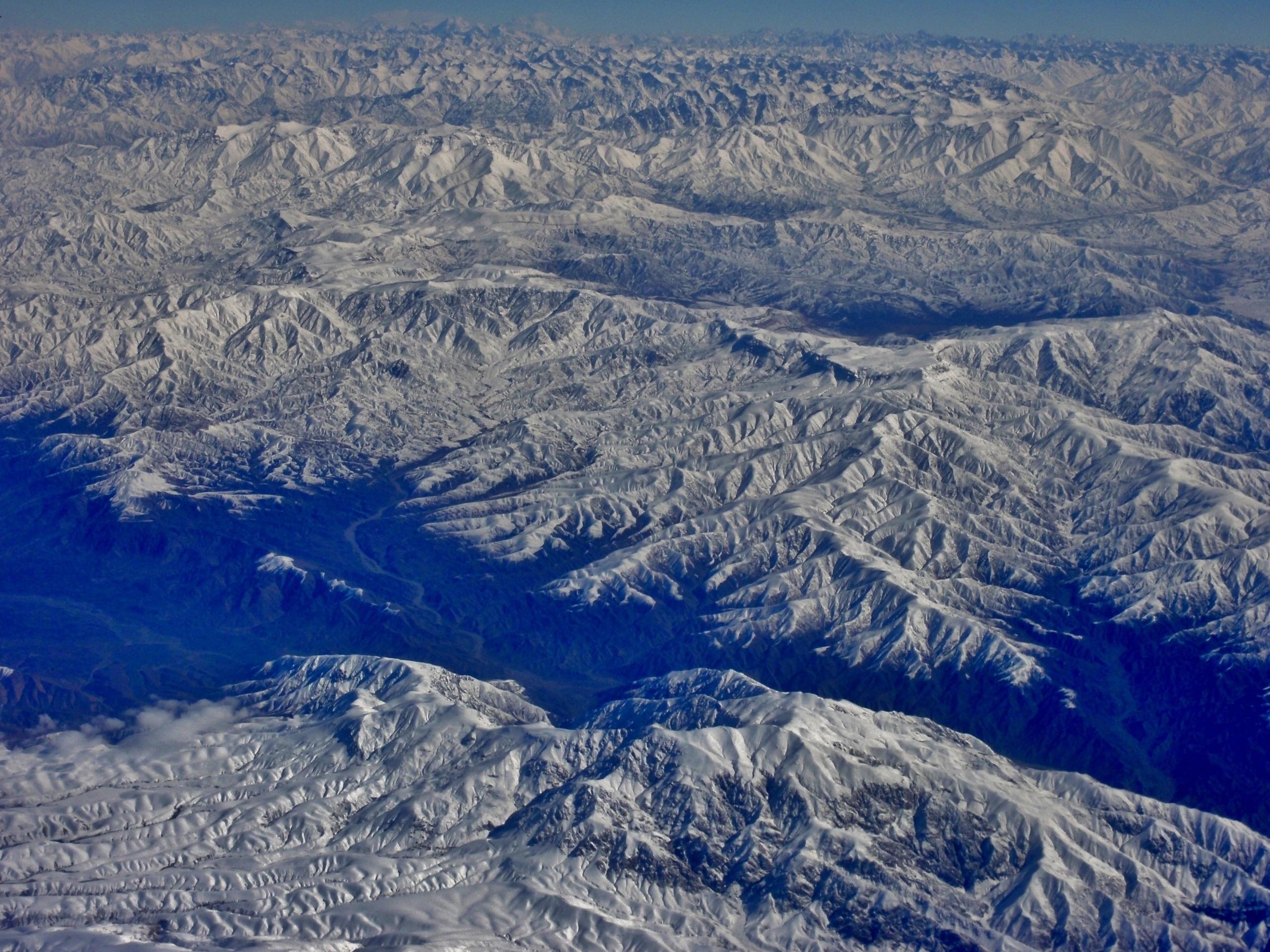 興都庫什山脈(Hindu Kush)(Paasikivi@Wikipedia / CC BY-SA 3.0)