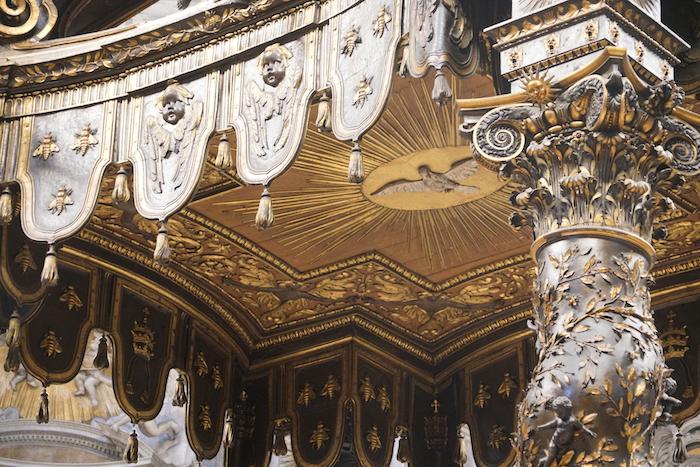 教宗祭壇之頂(曾廣儀攝)