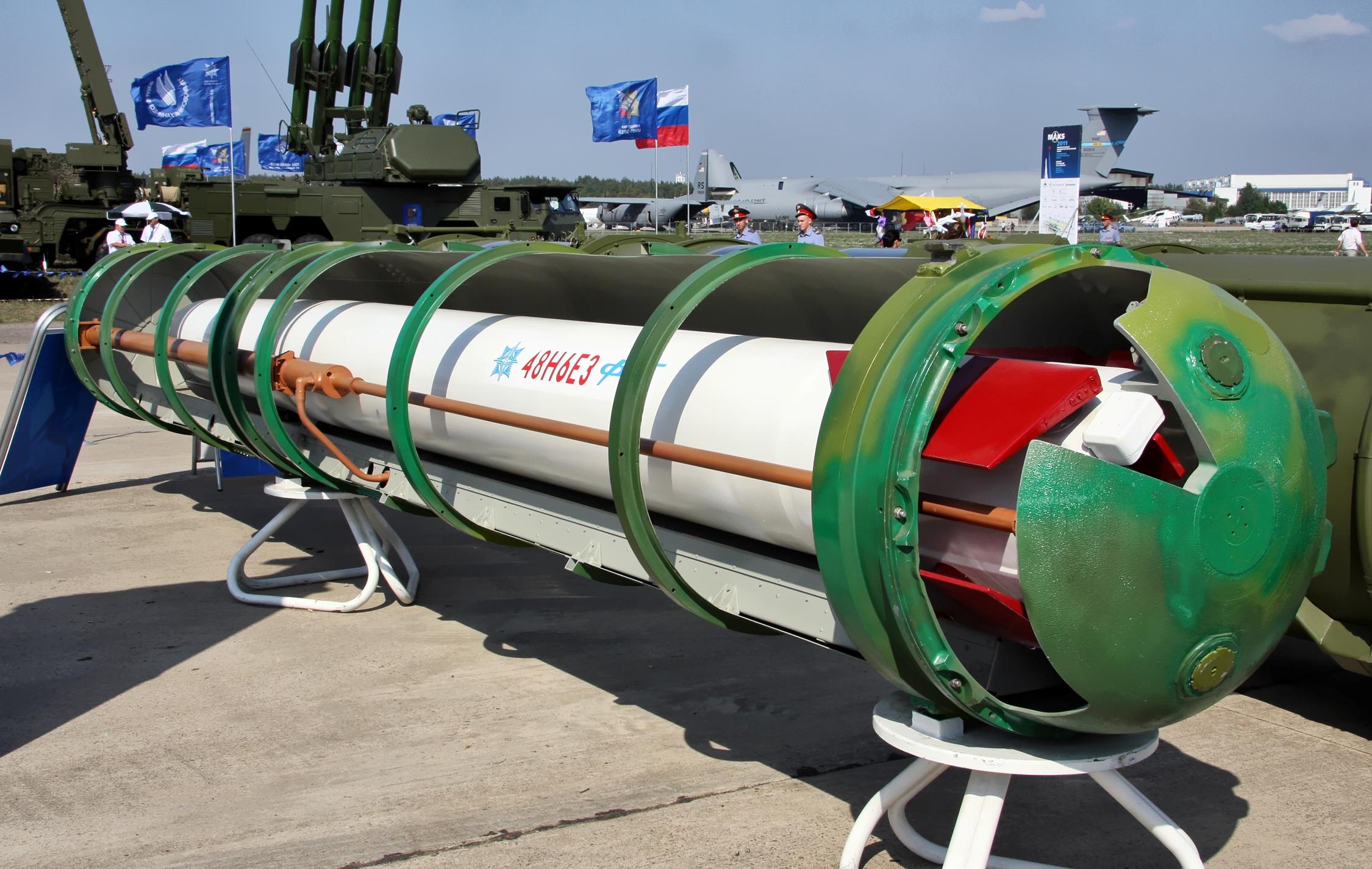 俄羅斯S-400防空飛彈系統(Vitaly V. Kuzmin@Wikipedia / CC BY-SA 4.0)