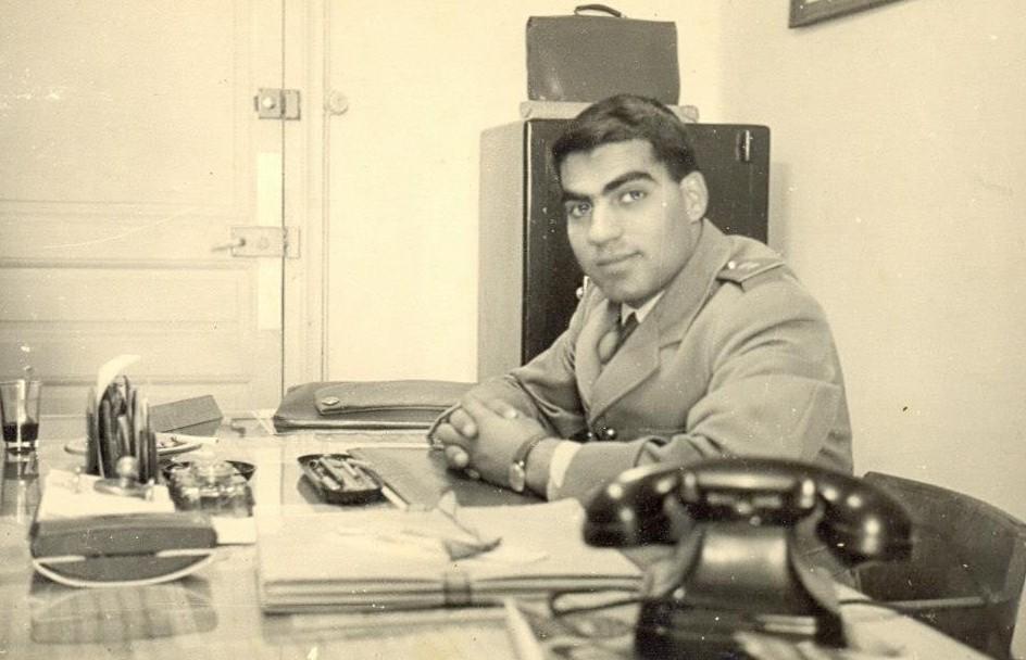突尼西亞前總統本.阿里25歲舊照,當時還是年輕軍官。(info-tunisie.net / Public Domain)