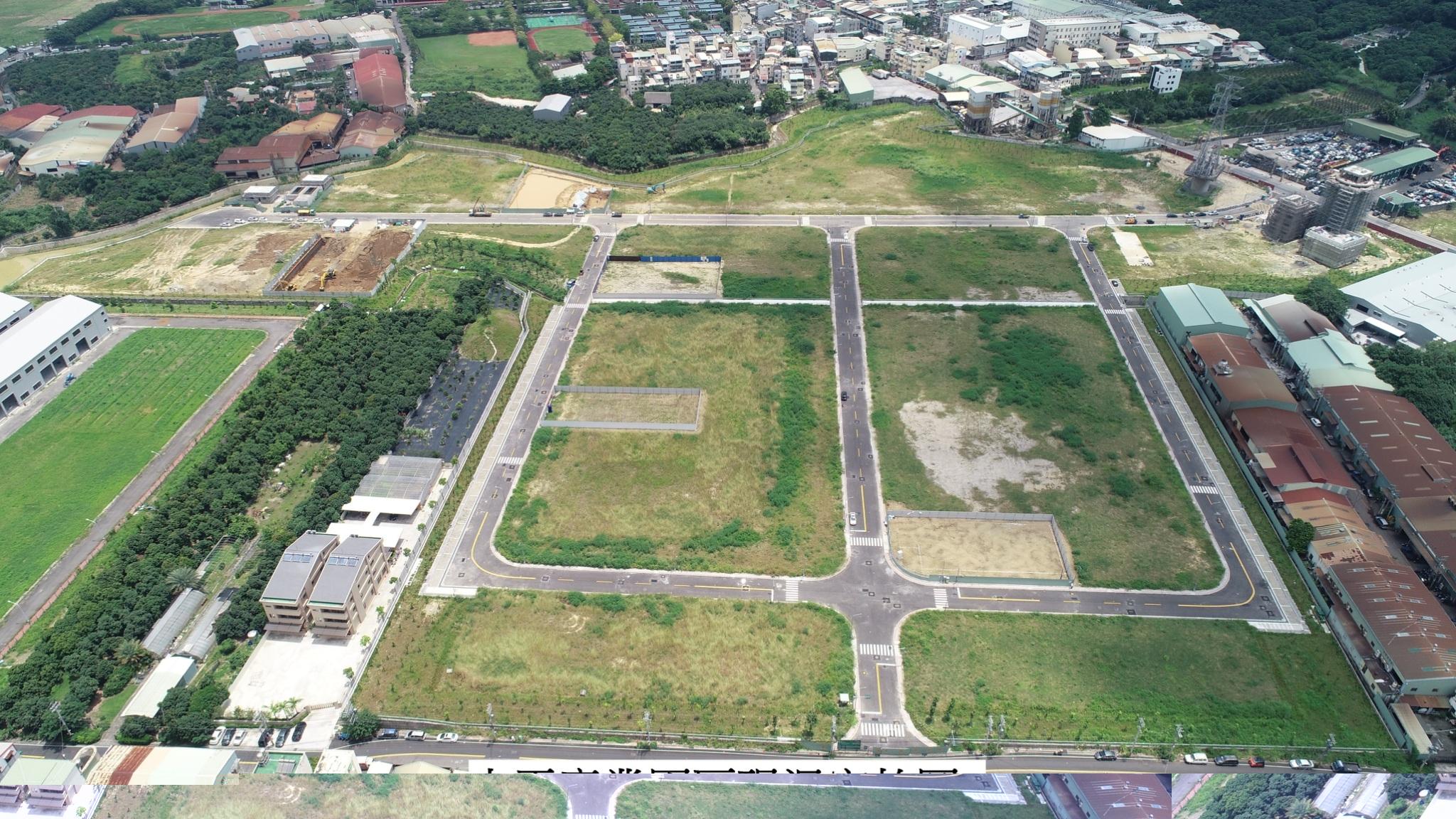 太平產業園區過去多為農業用地非法占用廠房,區域開發後將提供合法用地協助廠商建廠。(圖/臺中市政府提供)
