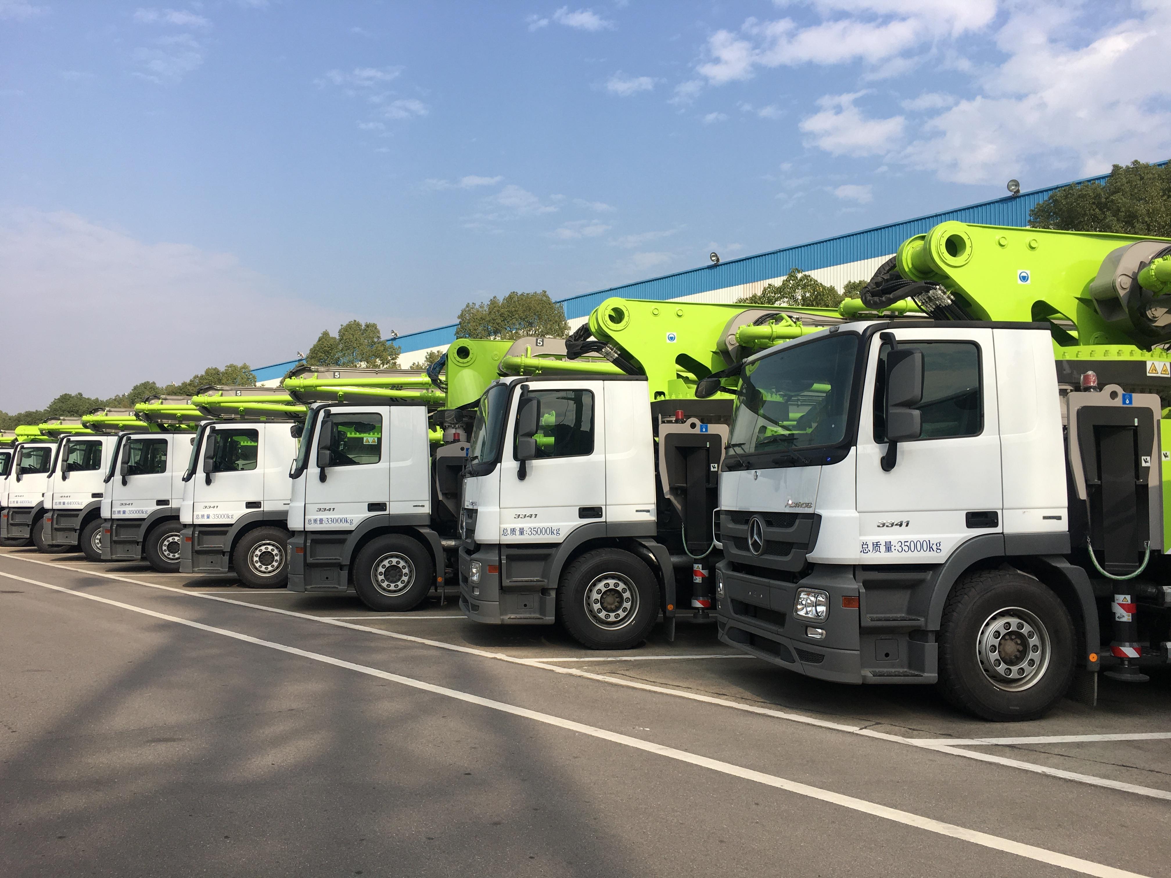 工程機械「湘軍」骨幹企業之一的中聯重科,研發的各類裝備在國際市場很受青睞。(新華社)