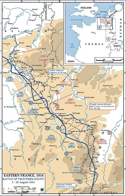 邊境戰役之洛林—孚日會戰
