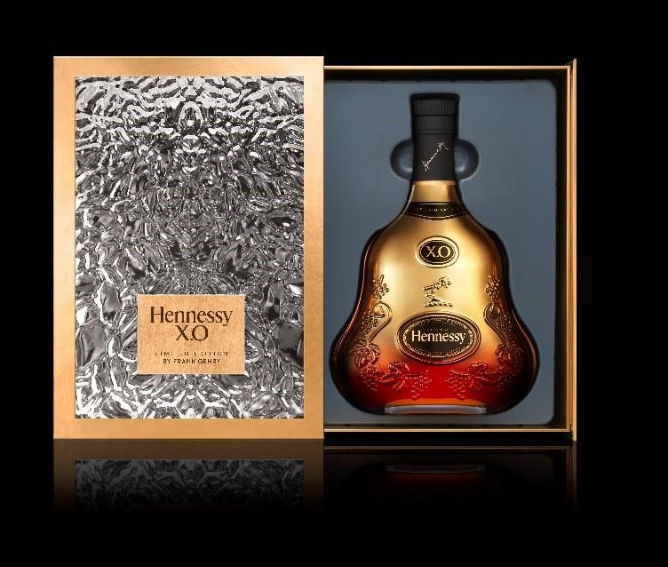軒尼詩X.O 150週年法蘭克蓋瑞限量紀念版(圖/酩悅軒尼詩提供)