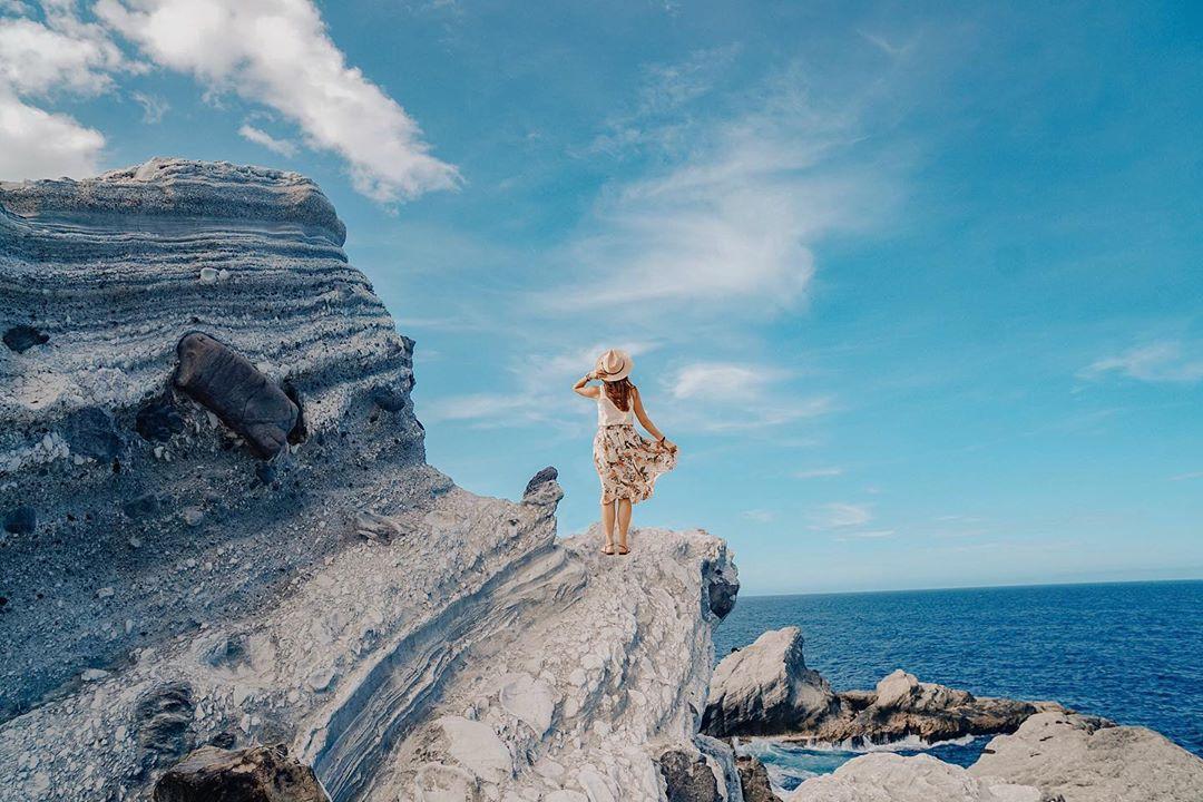 2020全台打卡景點推薦-石梯坪單面山。 (圖/imannchi, Instagram)