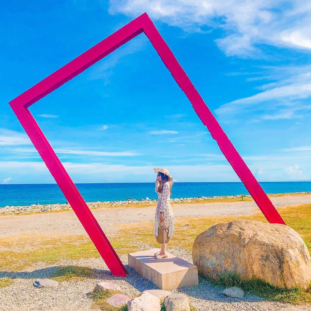 巨人版相框也是熱門的攝影點(圖/kiki.0226@instagram提供)
