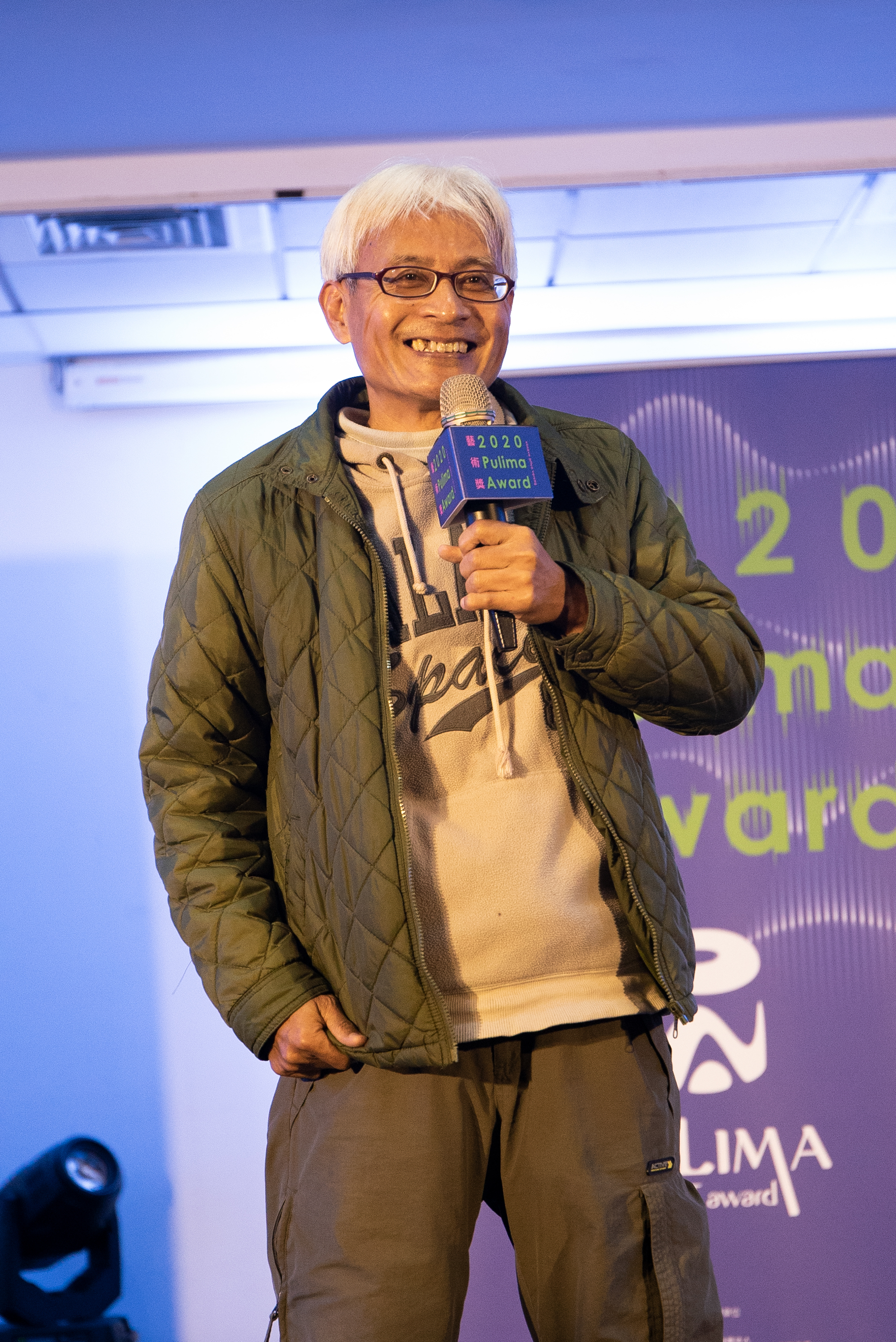 Pulima藝術獎表演創作徵件競賽評審團主席達卡鬧。(圖/財團法人原住民族文化事業基金會提供)