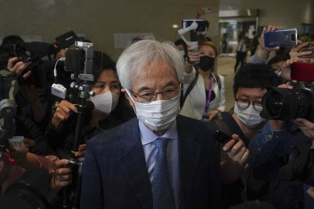 香港民主黨創黨成員、被民主派人士譽為香港「民主之父」的李柱銘。(美聯社)