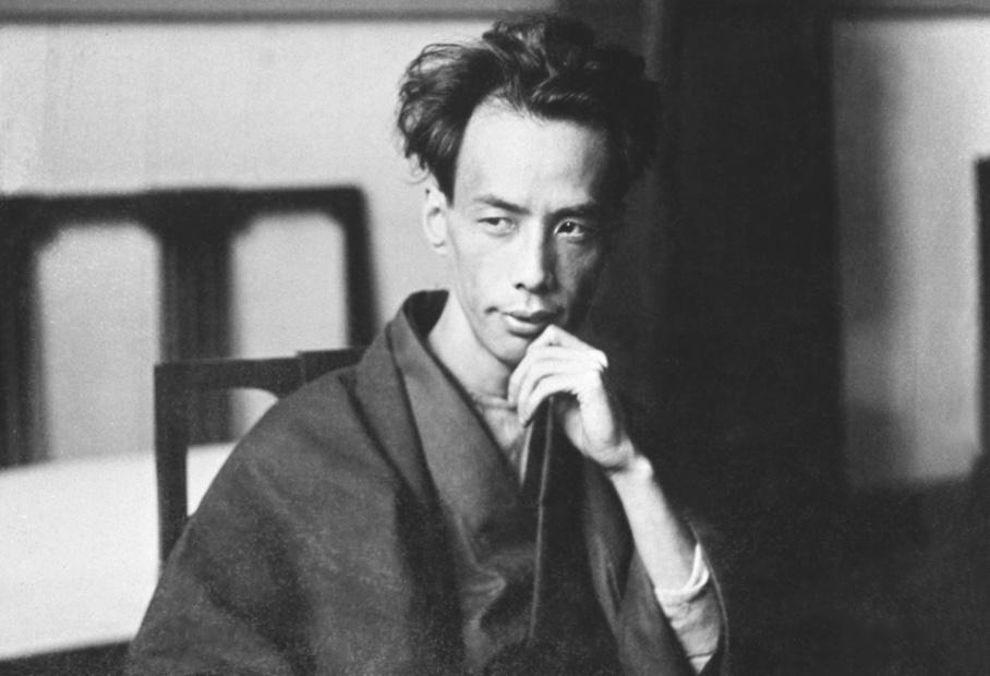大正時期的日本文豪芥川龍之介。(翻攝日本文學振興會官網)