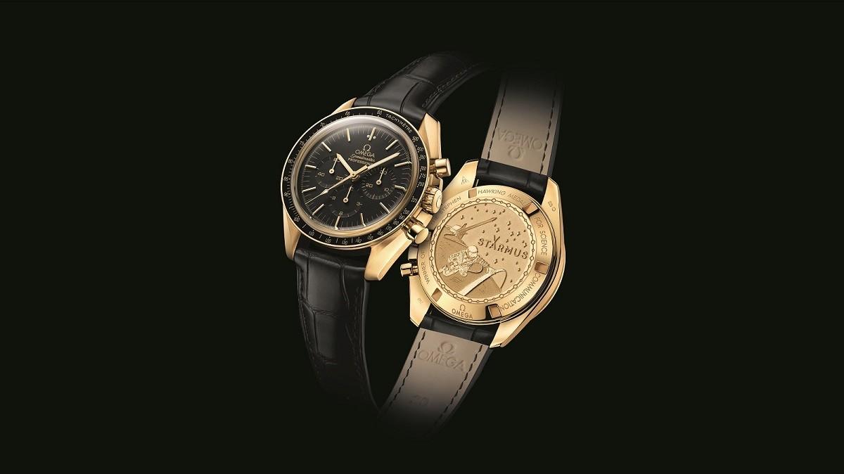 為史蒂芬·霍金科學傳播獎得主打造專屬腕錶  OMEGA鼓勵大家關注科學