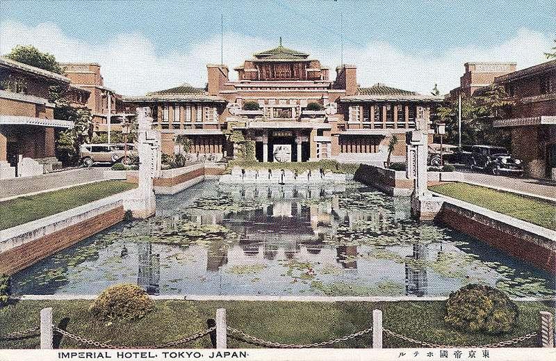 【讀者投書】東京大半震成瓦礫,它竟能毫無損傷!揭舊帝國大飯店「傳奇建築師」,精妙設計居然被拆了