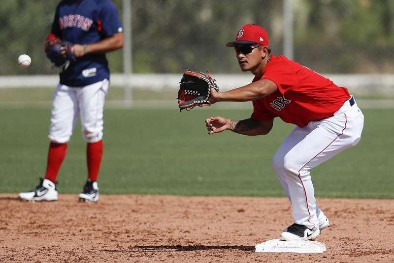MLB》從塞揚強投手中開轟! 林子偉春訓首轟出爐
