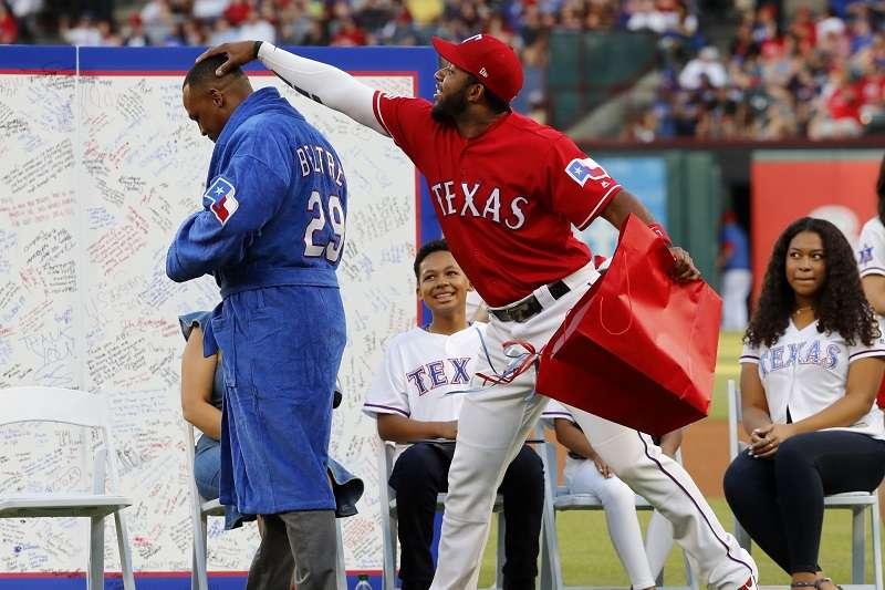 MLB》遊騎兵榮退貝爾崔29號球衣 名人堂教頭拉索達驚喜現身