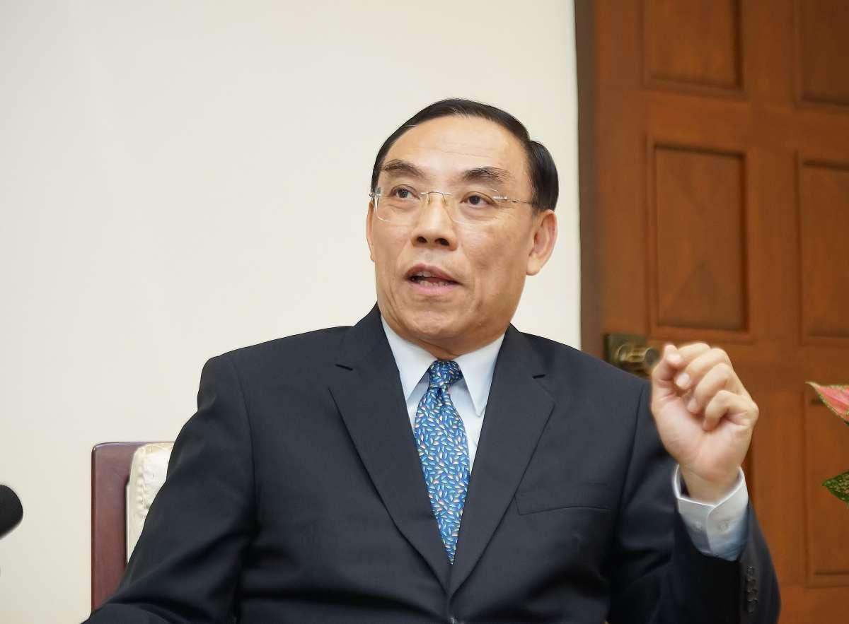專訪》法務部長蔡清祥