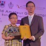 世界業餘圍棋錦標賽:我13歲好手賴均輔拿下第三名