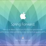 蘋果新品發表會  3月9日掀底牌