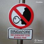 新加坡為什麼禁口香糖?李光耀:妨礙國家進步