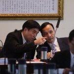 政務官列席中常會報告 朱立倫、郝龍斌當場漏氣