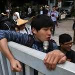 抗議公投法修正審查 陳為廷再攻立院