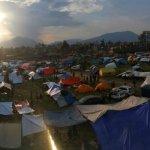 尼泊爾震後第三天救災賑災越趨緊張