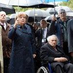 德國總理來到死亡集中營:絕不能忘記過去,我們會永遠記憶