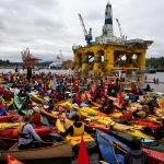 環保人士西雅圖港划船 抗議殼牌北極鑽油