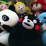 可愛的日本吉祥物,背後是暗潮洶湧的地方較勁