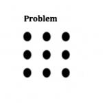 你有辦法一筆畫就把這9個點連起來嗎?