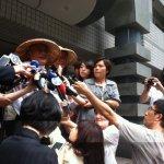 「做錯事的不是她」林義雄向中時記者道歉