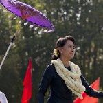全球觀察》當兩座諾貝爾和平獎齊聚中國 翁山蘇姬會走下神壇嗎?