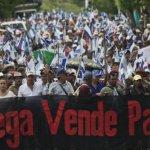尼加拉瓜逾千人示威 反對中資新運河興建
